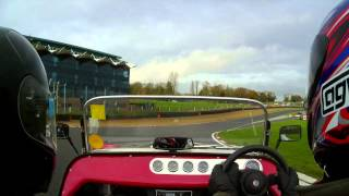 GBS Zero - Brands Hatch: Outing #4 - Demo for Blue, a little more confidence - 15/11/14