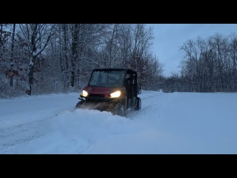 #109 Plowing Through The Snow On A 60 HP Sleigh!