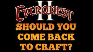 EQ2 Fallen Gate Progression Server : Crafting in Vanilla Everquest 2 !
