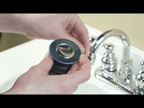 How To Replace Your Bathroom Sink Pop-Up Assembly | PlumbCraft How To Series With Penny PlumbCraft