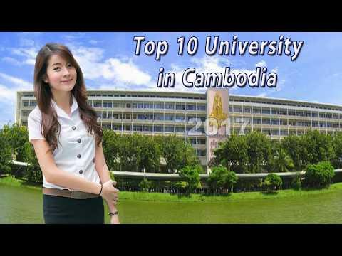 Top 10 universities in Cambodia