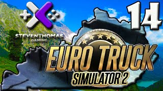 SKS Plays Euro Truck Simulator 2 Gameplay:  Part 1 of 2 New Skin!! [Episode 14]