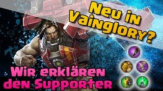 Supporter Tutorial für Neueinsteiger ✖ Let's Play Ardan ✖ Vainglory deutsch german