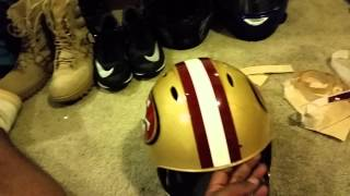 Make your own NFL or NCAA Football helmets Part 2