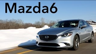 2016 Mazda6 Quick Drive Consumer Reports