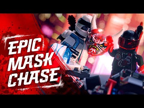 Ride Ninja Stop Motion The Chase Lego Ninjago Youtube