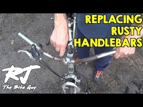 Replacing Rusty Handlebars On Gary Fisher Bike