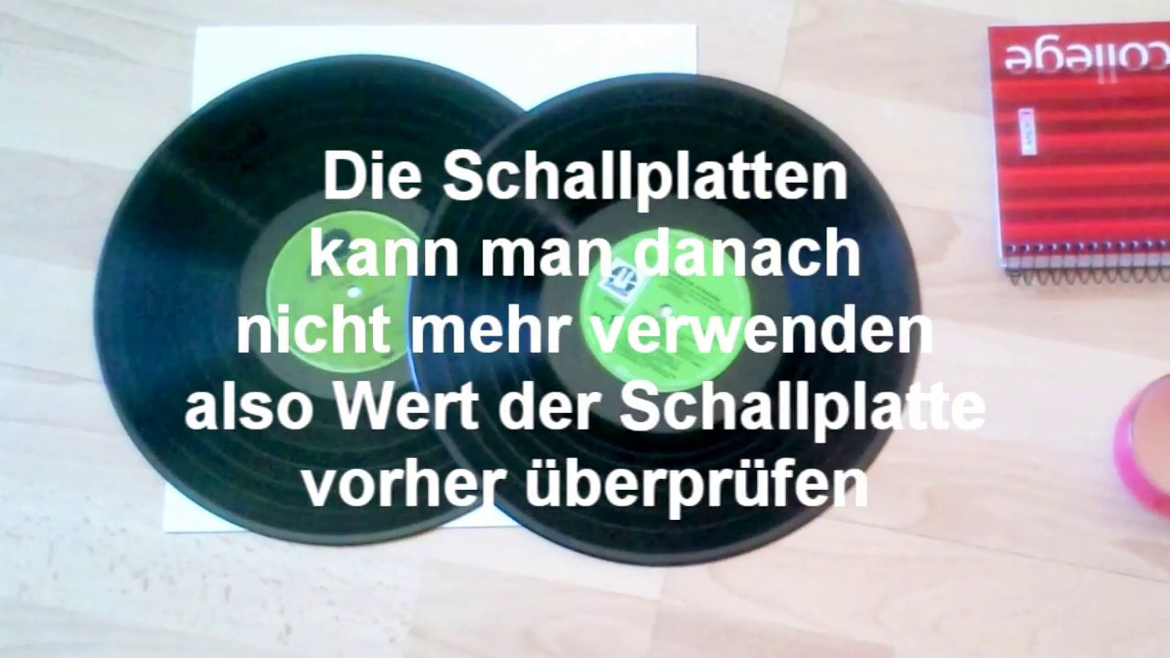 diy schallplattenbuch lp buch tutorial vinyl book youtube. Black Bedroom Furniture Sets. Home Design Ideas