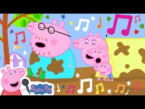 🌟 Jumping in Muddy Puddles  🎵 Peppa Pig My First Album 10#   Peppa Pig Songs   Kids Songs