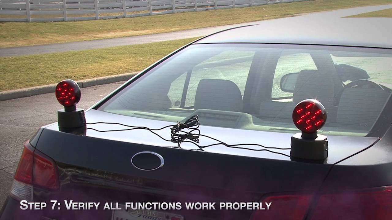 blazer international led wireless tow light kit [ 1280 x 720 Pixel ]