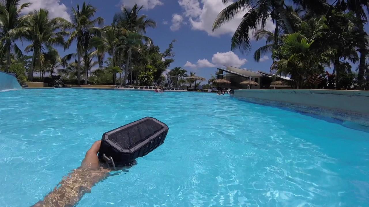 Rechargeable Waterproof Floating Bluetooth Speaker Youtube