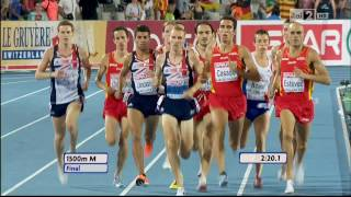 1500m men FINAL 20th European Athletics Championships Barcelona 2010 HD