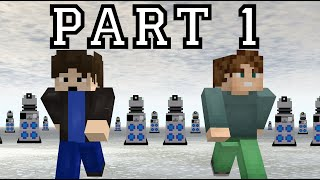 MINECRAFT Doctor Who - Journey to the North Pole #1