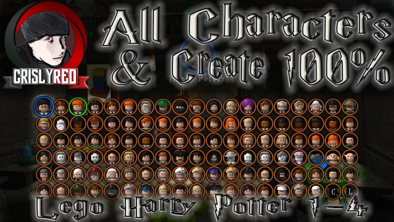 Лего гарри поттер 1 4 где найти персонажей звездный войны псп игра