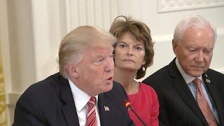 President Trump role in health care bill