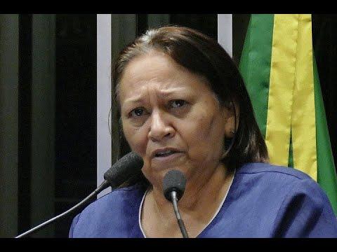 Fátima Bezerra diz que prisão de ex-presidente fez brotar 'milhares de Lulas'