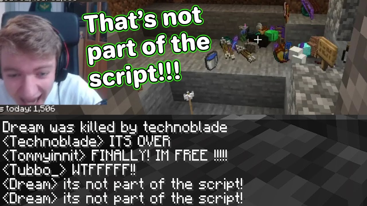 Download Every SCRIPT MISTAKE on dream smp (dream,technoblade,tommyinnit..)
