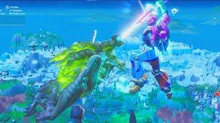 Fortnite Monster vs Robot Event Full Battle