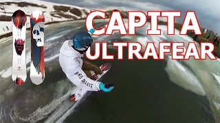 Capita Ultrafear Snowboard Review 2019