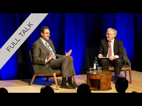 Lord Mervyn King with Gabriele Finaldi – Alan Howard Foundat