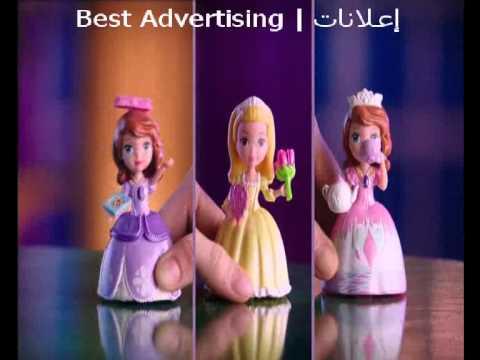 Sofia The First إعلانات دمى على سبيستون Youtube