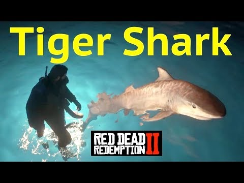 Tiger Shark Location in Red Dead Redemption 2 (RDR2): Guarma Peaks and Fer-De-Lance Snake thumbnail