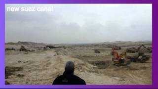 Archive new Suez Canal excavation and communication in the phoned channel 65 in the January 11, 2015