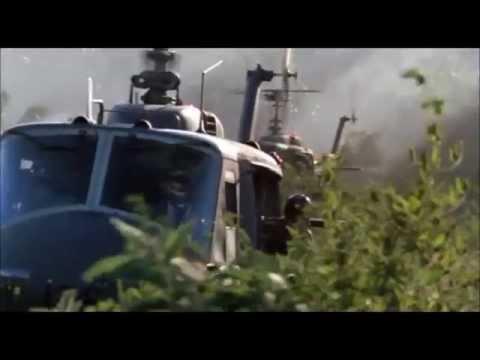 Hamburger Hill Full helicopter scene HD