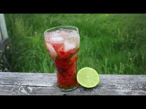 How To: Strawberry Mojito Mocktail