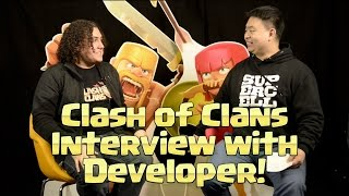 Clash of Clans Interview with Developer - Jonas!