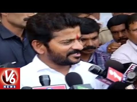 Congress Leader Revanth Reddy Speaks On Telangana Assembly Election Results 2018 | V6 News