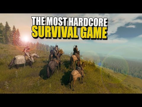The MOST HARDCORE Survival MMO Has ARRIVED (Life Is Feudal: MMO) #1
