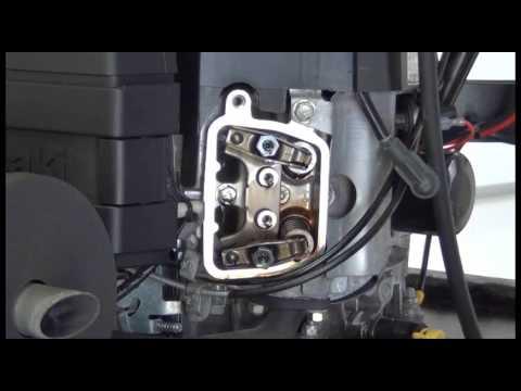Setting the Valves and Checking Compression on a Kawasaki FH500V