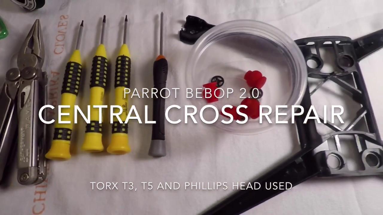 Parrot Bebop Drone 2 central Cross