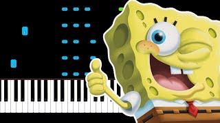 Tainy, J Balvin - Agua Theme From Sponge On The Run Piano Tutorial