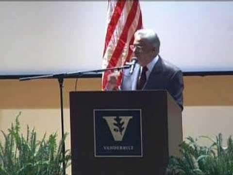 Former Brazilian President Fernando Cardoso at Vanderbilt