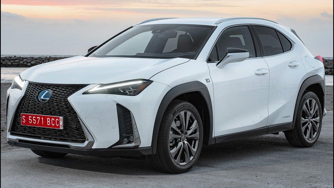 2019 lexus ux 250h f sport luxury and efficient urban crossover