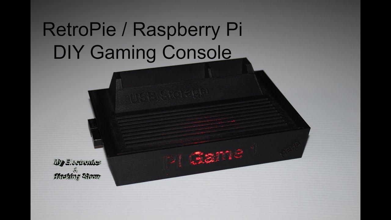 RetroPie Raspberry Pi Gaming Console Step By Step Make