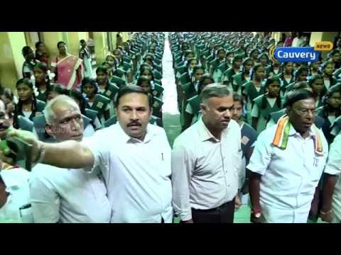 Congress leader's selfie disrespect for national anthem | Cauvery News