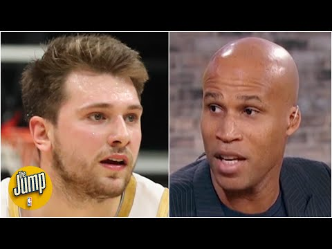 Reacting to Luka Doncic not dunking on an easy basket vs. the Hornets | The Jump
