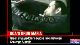 Exposed  Goa cops-drug mafia link - Video   The Times of India.flv