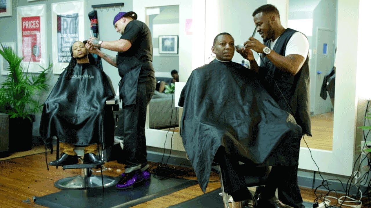 interview with a barber shop owner essay A history of the african-american barbershop by kai but it took barber shops the better part of a century whether they want to own a barber shop or just.