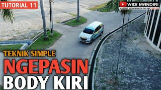 Tutorial 11 | Teknik simple melatih feeling ngepasin body kiri maju mundur by Widi Mandiri