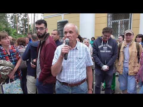 Встреча Данилова М.Н. с гражданами по вопросу реконструкции набережной 6 июля 2019 ч.2