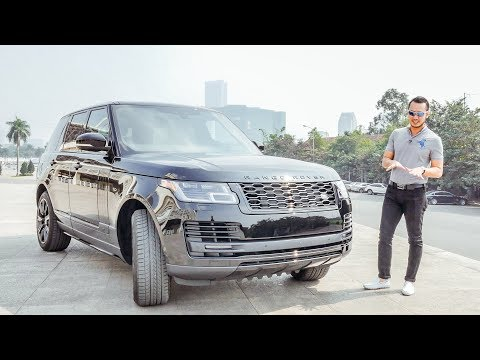 XEHAY - Lái thử Range Rover 2018 bản HSE Black Edition giá hơn 8 tỷ