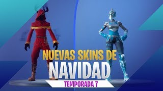 All new Skins Christmas and NEW EVENT - Fortnite