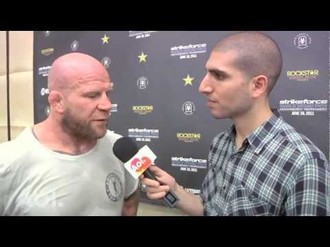 Strikeforce: Jeff Monson Believes He's Getting Better With Age