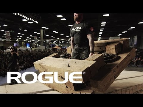 2017 Arnold Strongman Classic — The Timber Carry / 4K