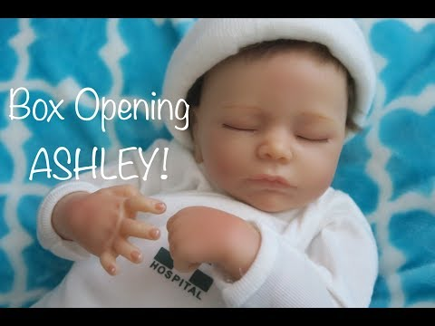 My First Ashton Drake Doll Box Opening! Ashton Drake Ashley Breathing Doll!