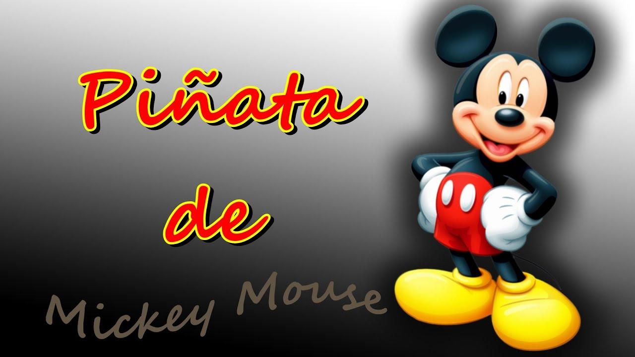 Pi ata de mickey mouse youtube - Estor mickey mouse ...